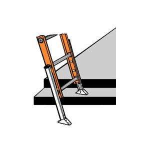 York Scaffold Ladder Accessories Extension Ladders Step